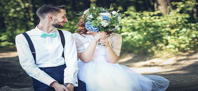 milton wedding limos